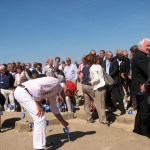 The Royal Prince hoists the 25th Blue Flag in Noordwijk (NL)