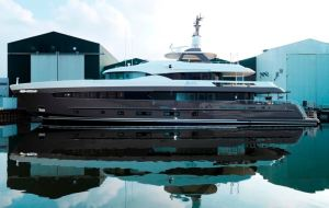 Heesen Yachts launches YN 17042 – M/Y Alive – the first
