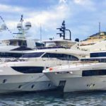 The 2 Majesty Superyachts Arrive for the Monaco Yacht Show 2018