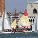Vintage Boats:Ready to go the VII Trophy Principality of Monaco in Venice
