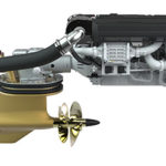 Volvo Penta's new edition D13 IPS1350